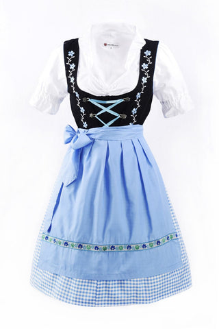 Oktoberfest Traditional German Beer Girl Costume Dirndl Lottie