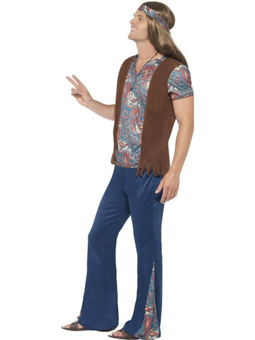 Hippie Mens 60s Fancy Dress Costume profile