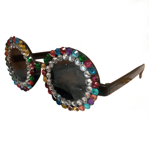 Over the Rainbow Jewelled Glasses