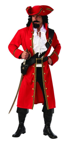 Pirate Captain Redcoat Adult Costume
