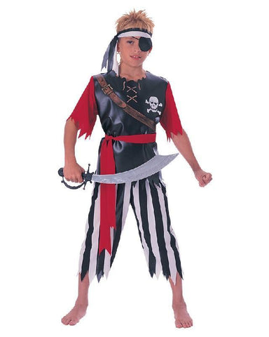 Pirate King Boys Pirate Costume