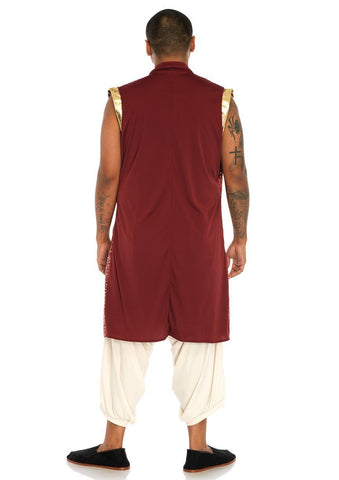 Prince Al Men's Bollywood Genie Costume back