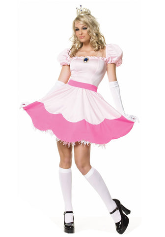 Princess Peach Womens Costume Hire