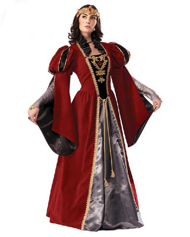 Queen Anne Medieval Collector's Edition Fancy Dress Hire Costume