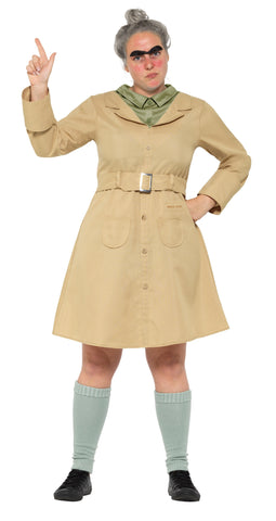 Roald Dahl Miss Trunchbull Adult Costume