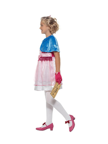 Roald Dahl Veruca Salt Children's Costume side