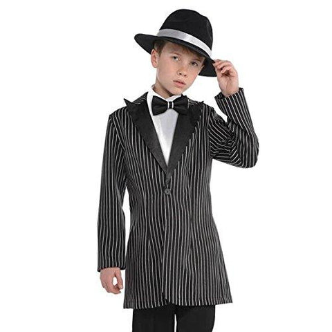 1920's Gangster Zoot Suit Jacket Children's Costume