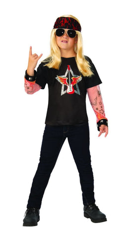 Rock Star Fancy Dress Child Costume