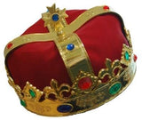 Royal Crown Red Fabric