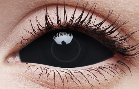 Full Eye Costume Contact Lenses Sclera
