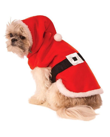 Santa Claus Pet Costume Animal Dog Fancy Dress Christmas Party Outfit