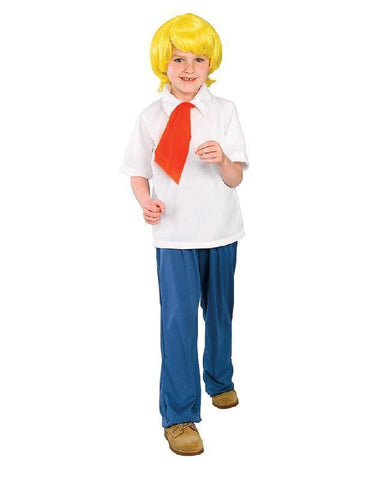 Scooby Doo Gang Fred Jones Classic Children's Costume