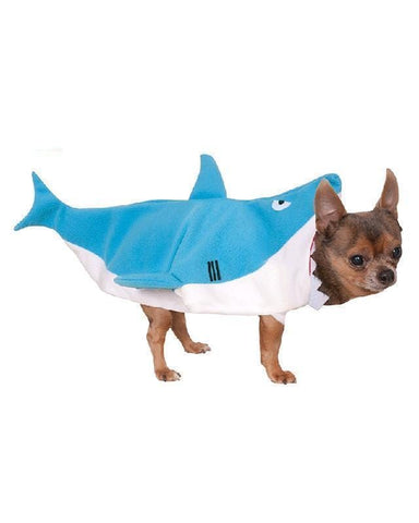 Man Eating Shark Dog Dress Up Pet Costume