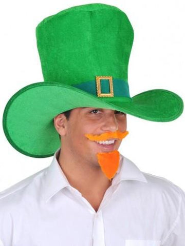 St Patrick's Day Jumbo Green Leprechaun Irish Top Hat