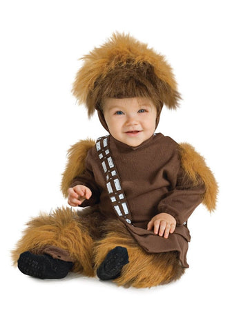 Chewbacca Licensed Star Wars Toddler Baby Fleece Romper Costume