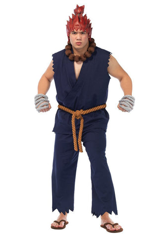 Street Fighter Akuma Adult 90s Mens Video Games Costume