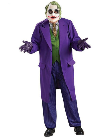 The Joker The Dark Knight Rises Deluxe Adult Costume Batman Fancy Dress