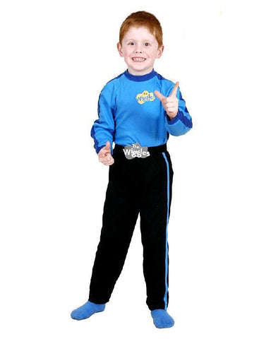 The Wiggles Blue Anthony Children's Premium Dress Up Costume