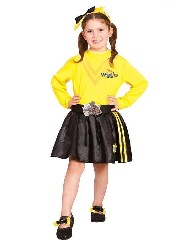 The Wiggles Emma Headband and Shoe Bows Fancy Dress Costume Set – Disguises  Costumes Hire & Sales
