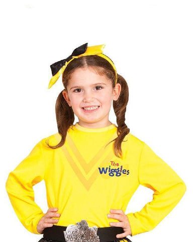 The Wiggles Emma Yellow Top Dress Up Toddler and Girls Costume