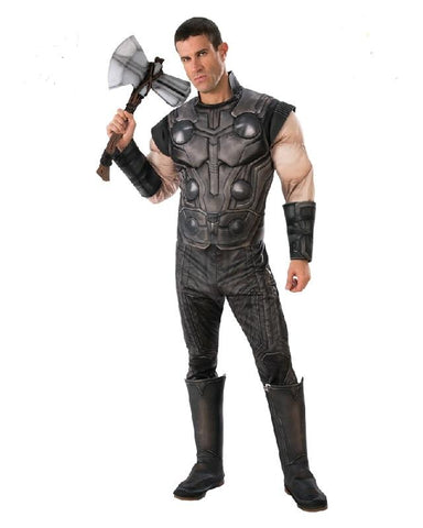 Thor Infinity War Muscle Chest Adult Marvel Avengers Superhero Costume