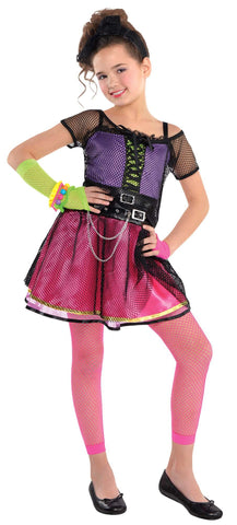 Totally 80s Girls Pop Star Costume