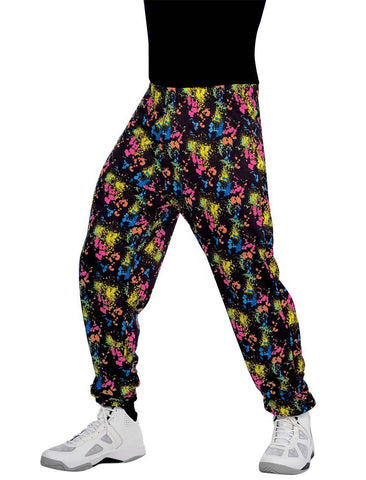 Totally 80s Mens Hip Hop Rapper Parachute Muscle Pants