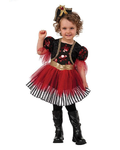Treasure Island Pirate Princess Toddler and Girls Costume