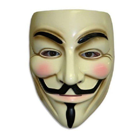 V For Vendetta Mask Anonymous Guy Fawkes Masquerade