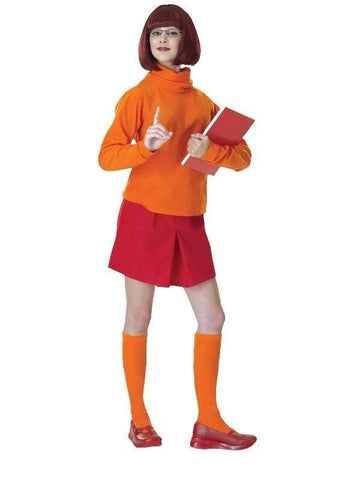 Velma Scooby Doo Gang Adult Costume
