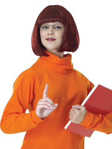 Velma Scooby Doo Gang Adult Costume wig