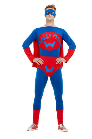 Wally Man Super Hero Jumpsuit Costume