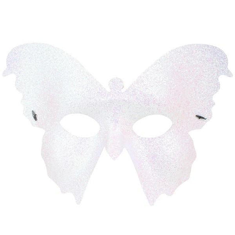 White Butterfly Masquerade Mask