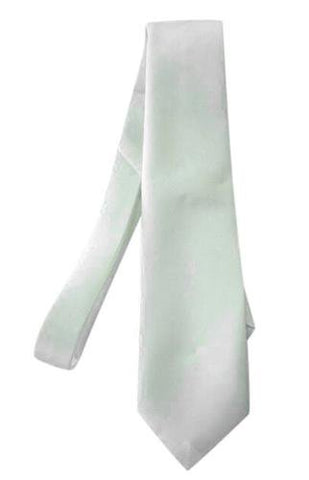 White Gangster Tie 1920's Costume Accessory