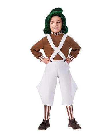 Willy Wonka and the Chocolate Factory Oompa Loompa Children's Costume