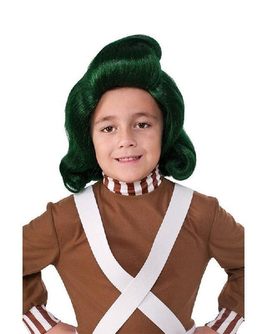 Willy Wonka and the Chocolate Factory Oompa Loompa Children's Wig