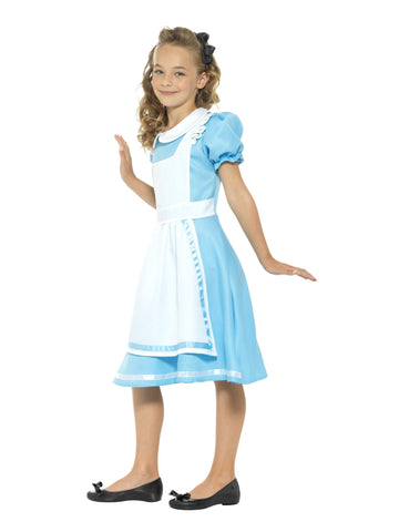 Wonderland Princess Girls Book Week Costume Alice Fancy Dress side