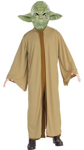 Yoda Star Wars Costume Jedi Master Fancy Dress