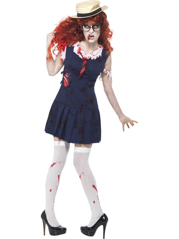 Zombie School Girl Halloween Costume