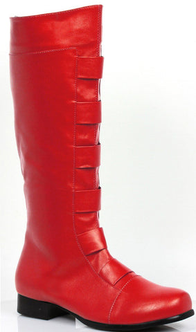 Accessories - Boots Superhero Red Mens