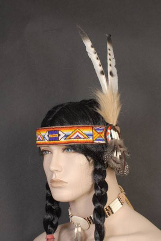 Indian Costume Feather Headband