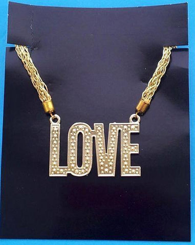 Costume Jewllery - Necklace Love