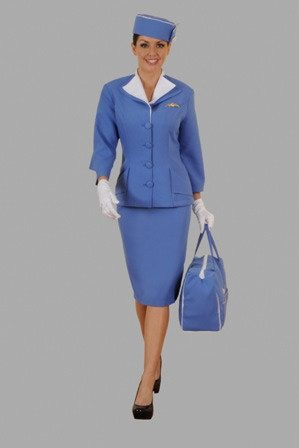 Costumes - Air Hostess Pan Am Womens Costume