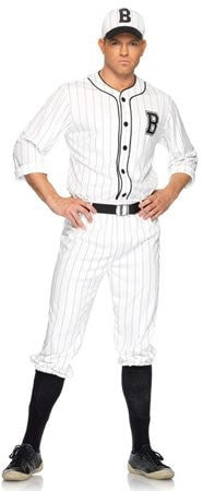 Costumes - Baseball Player Retro Mens Costume