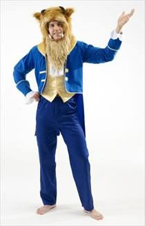 Costumes - Beast Mens Hire Costume