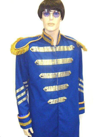 Costumes - Beatles Sgt Peppers Blue Mens Costume