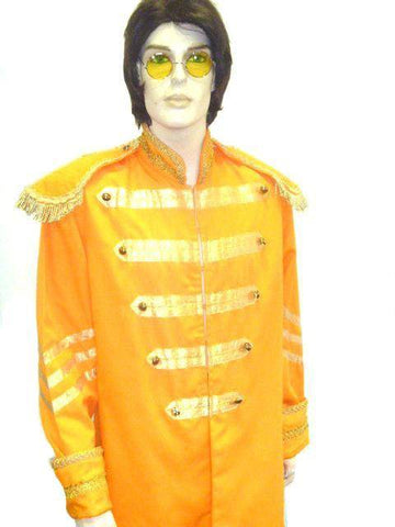 Costumes - Beatles Sgt Peppers Orange Mens Costume