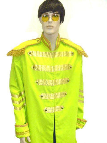 Beatles Sgt Peppers Yellow Mens hire Costume