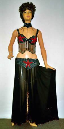 Costumes - Bellydancer Black Womens Costume