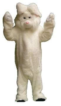 Bunny Floppy Ears Adult Mascot Hire Costume